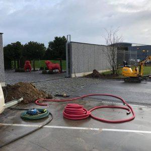 Graafwerken, elekticiteitswerken gasaansluitingen